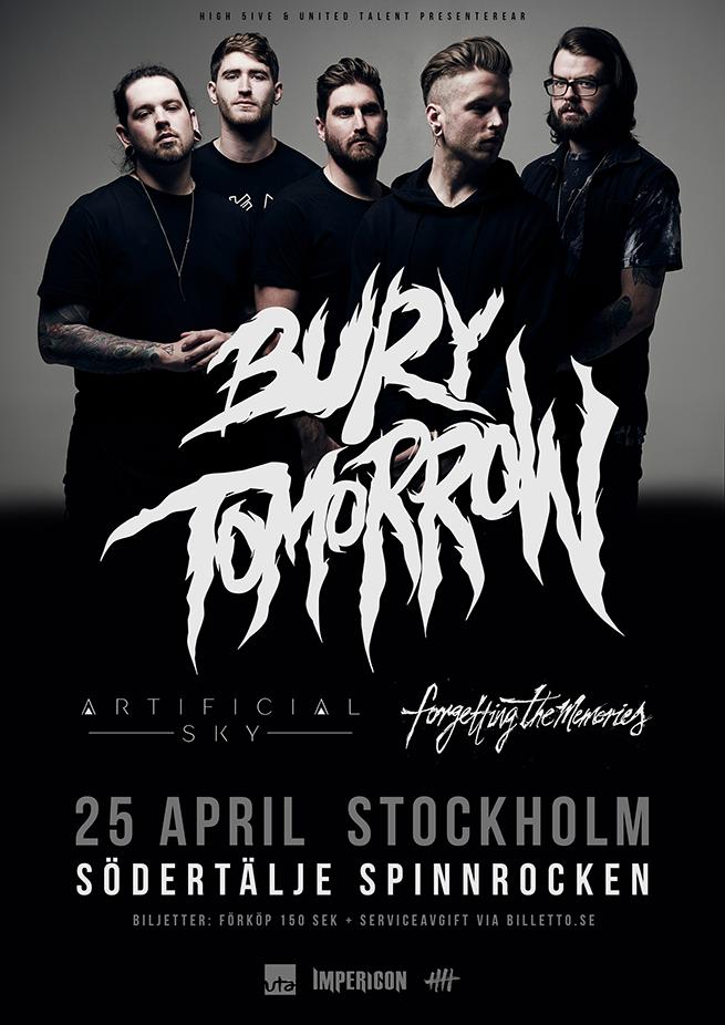 Bury Tomorrow Spinnrocken