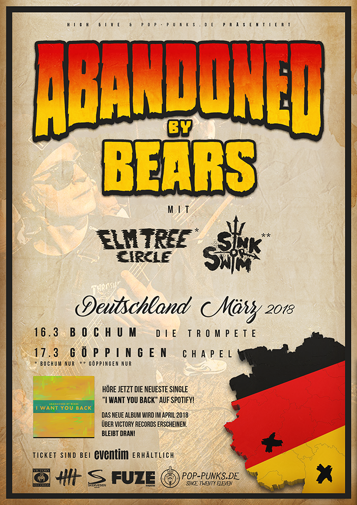 Abandoned By Bears Deutschland 2018