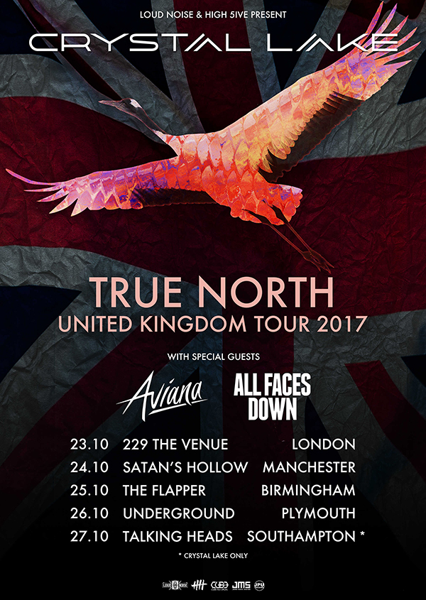 Crystal Lake True North Tour UK 2017