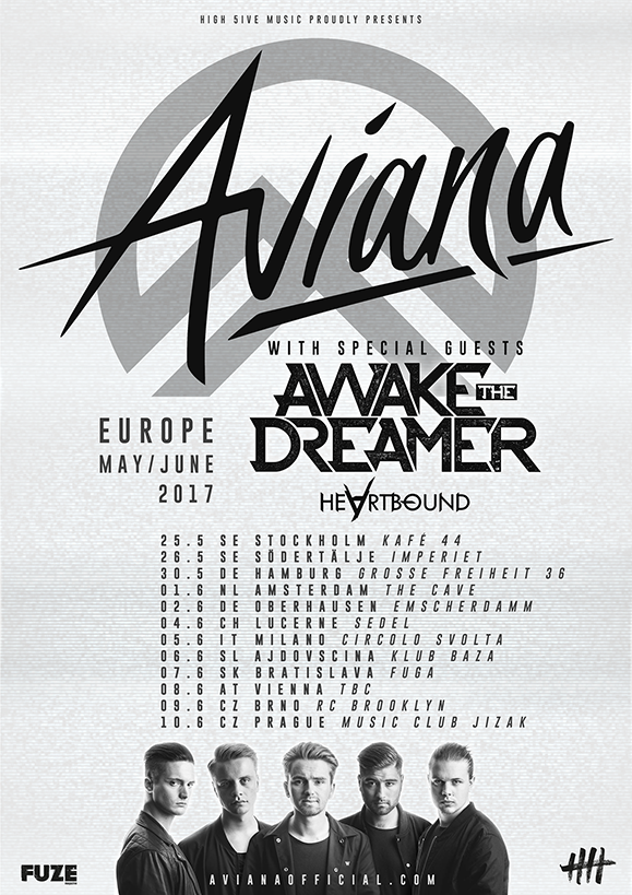 Aviana Europe tour 2017