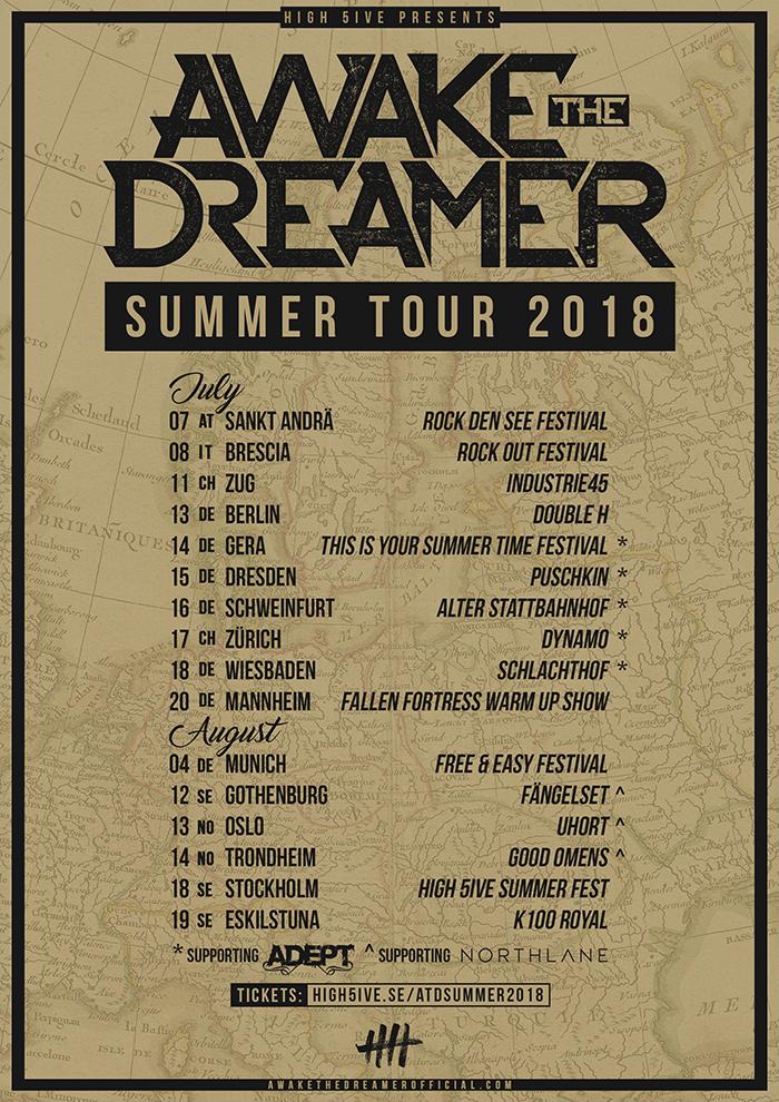 Awake The Dreamer Tour 2018