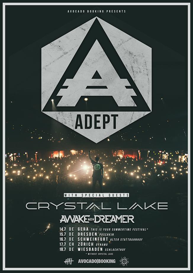 Adept Europe tour