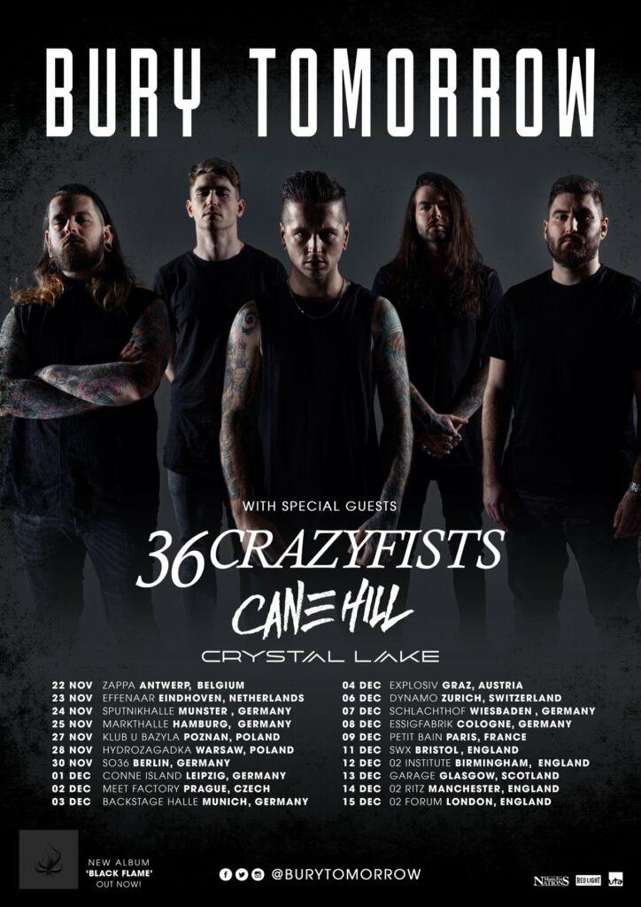 Bury Tomorrow tour