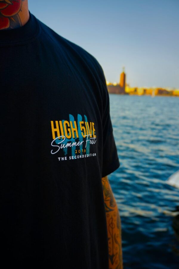 High 5ive Summer Fest t-shirt