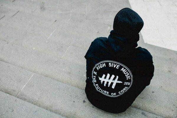 High 5ive music hoodie
