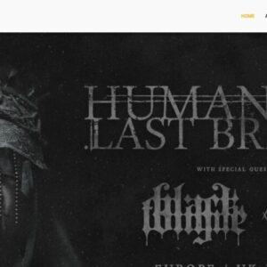 Humanitys Last Breath European and Uk Tour 2020 / 2021