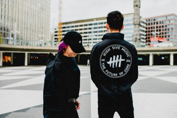High 5ive Music windbreaker