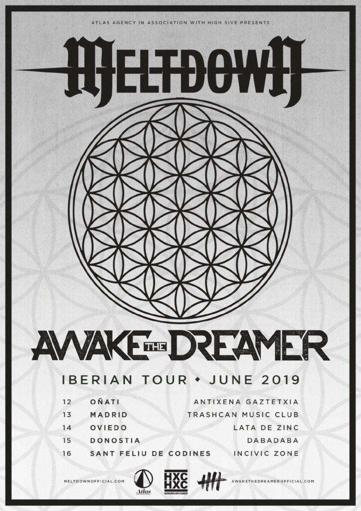 Meltdown, Awake The Dreamer Iberian Tour 2019